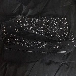 Studded Detail Boots